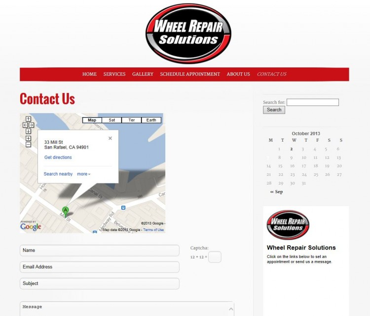 Wheel Repair Solutions Contact Us - R & R Consultants